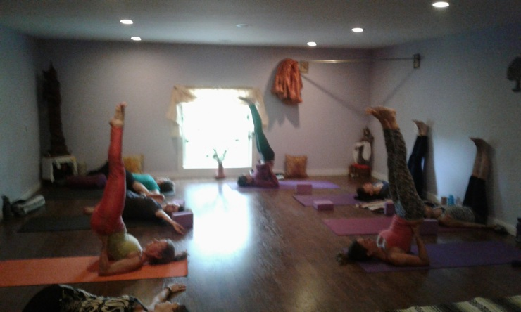 Yoga Tues Vinyasa July 25